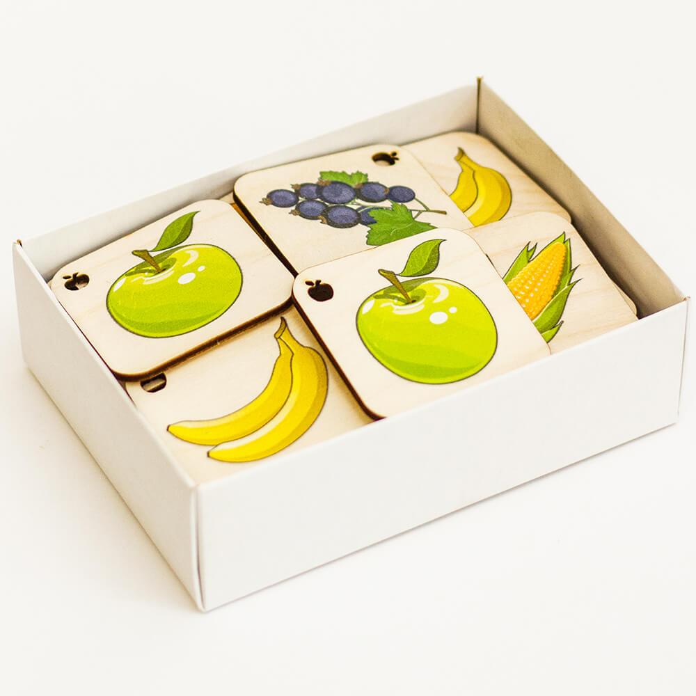 Мемори Фрукты Овощи Ягоды