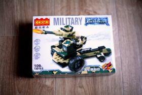 Конструктор военный зенитное орудие 3 в 1 Lego реплика 108 деталей