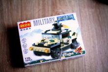 Конструктор военный Джип Хаммер 3 в 1 Lego реплика 110 деталей