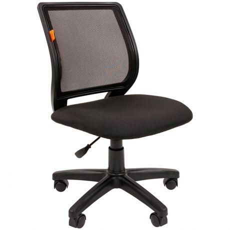 Кресло оператора Chairman 699 Б/Л PL, спинка ткань-сетка черная/сиденье TW черная, без подлокотников