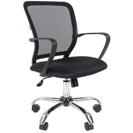 Кресло оператора Chairman 698 СН, ткань TW черная/ спинка сетка, до 140кг