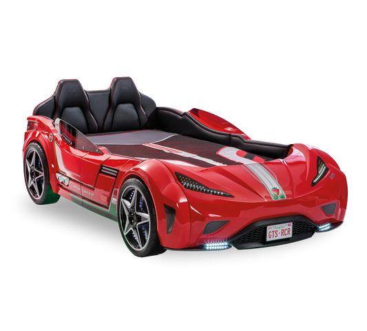 Кровать машина GTS, красный
