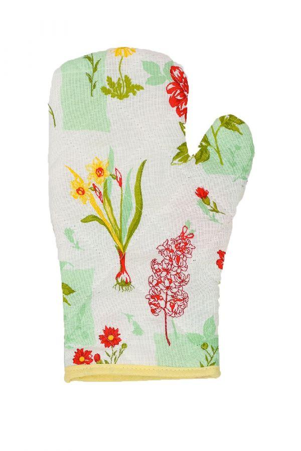 Набор прихваток-рукавичек Мари Санна Весенние цветы [в ассортименте]