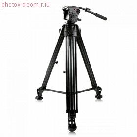 Профессиональный штатив с видеоголовой KingJoy VT-3500+VT-3530