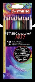Карандаши акв.12цв.Stabilo Aquacolor ARTY 1612/1-20