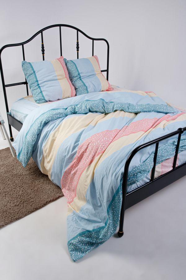 Поплин [в ассортименте] Франческа пододеяльник на молнии постельное белье