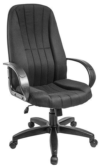 Компьютерное кресло АЛВЕСТ Кресло AV 107 PL (727) МК ткань 418 Чёрное