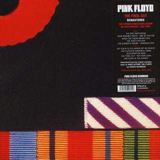 Pink Floyd - The Final Cut  1983/2017 LP