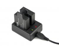 Двойное зарядное устройство SJCAM SJ4000/SJ5000/M10