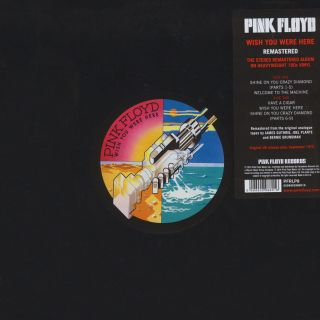 Pink Floyd - Wish You Were Here 1975/2016 LP
