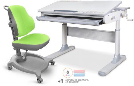 Комплект Mealux парта Edmonton Multicolor Lite + кресло ErgoKids Y-402