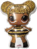 Шар фольга Фигура Куклы Лол Queen Bee