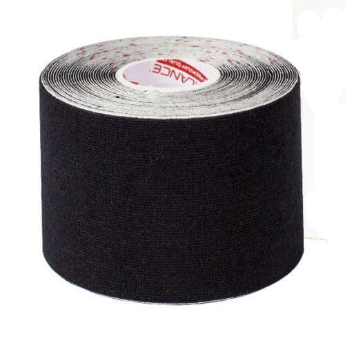 Кинезиотейп RockeTape, 5см х 5м, цвет – чёрный.