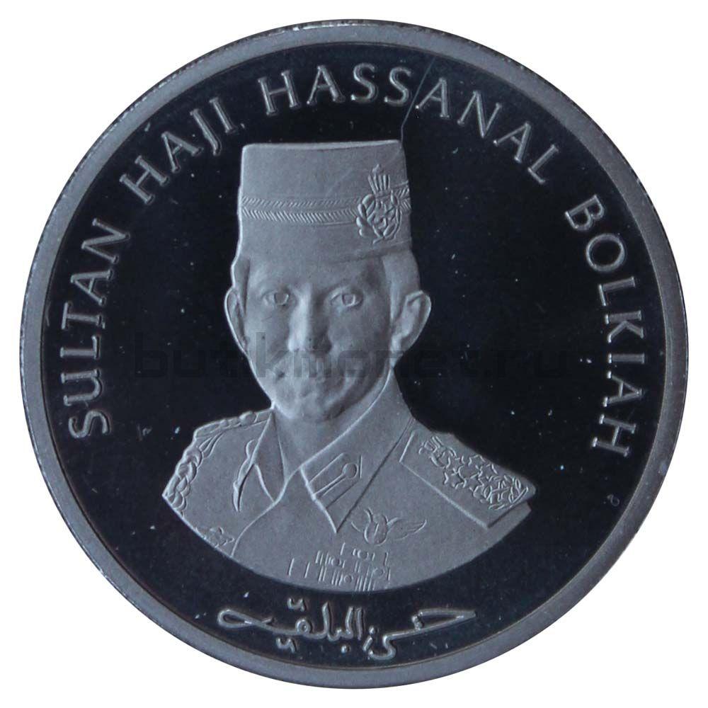 3 доллара 1997 Бруней 30 лет Ассоциации государств Юго-Восточной Азии