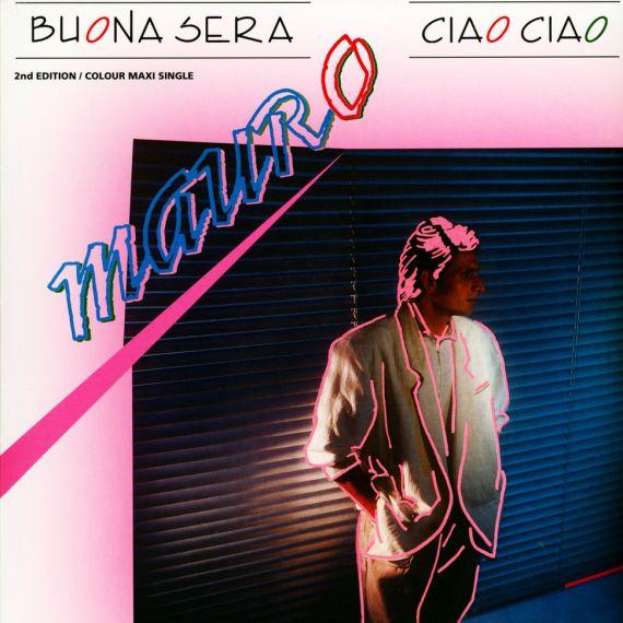Mauro - Buona Sera Ciao Ciao (Red Vinyl ) 2020 LP