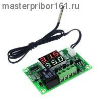 Двойной цифровой термостат температуры DC12V контроллер XH-W1219