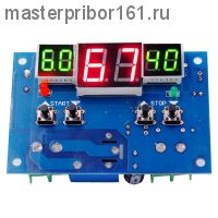 Цифровой Регулятор Температуры XH-W1401 -10 ~ +100°C, 12В,ток управления 10A