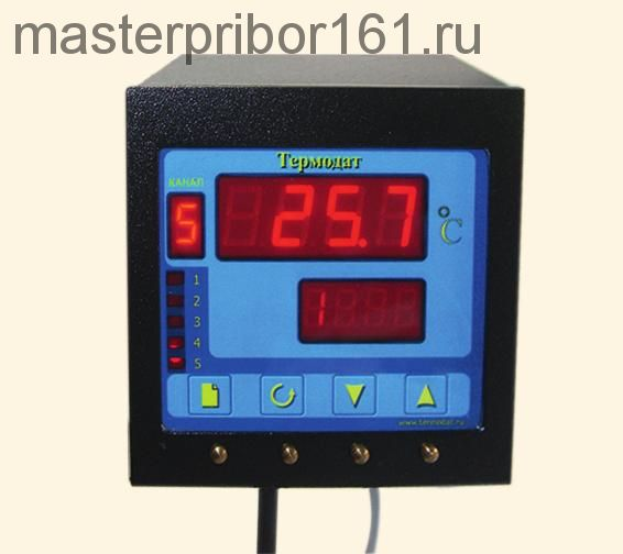 Пятиканальный регулятор температуры Термодат-11М3/5ТП/5Р