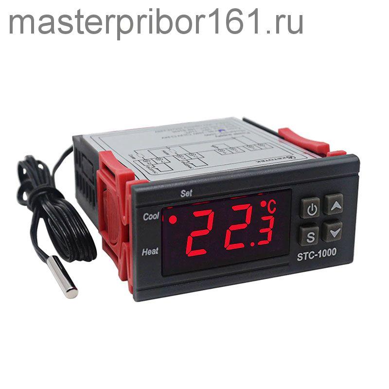 Регулятор температуры STC-1000 , -50C +99,9C , DC12V