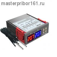 Двойной терморегулятор STC-3008  -55? ...+ 120?  пит: DC12V