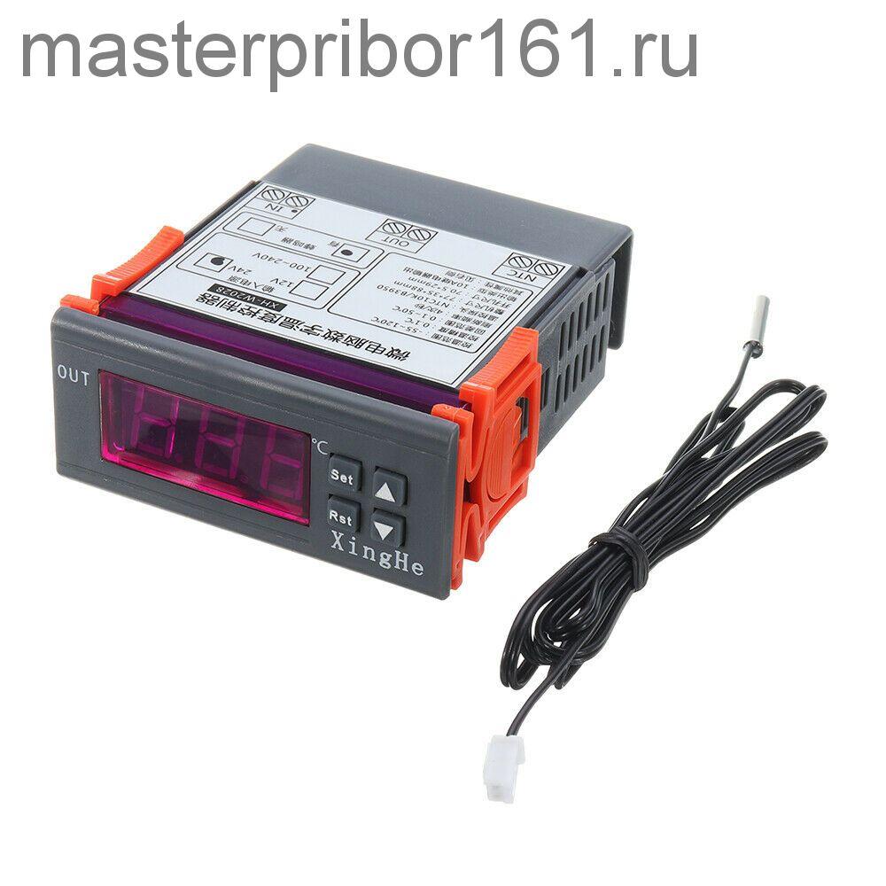 XH-W2028 цифровой терморегулятор (термостат) пит. 12В
