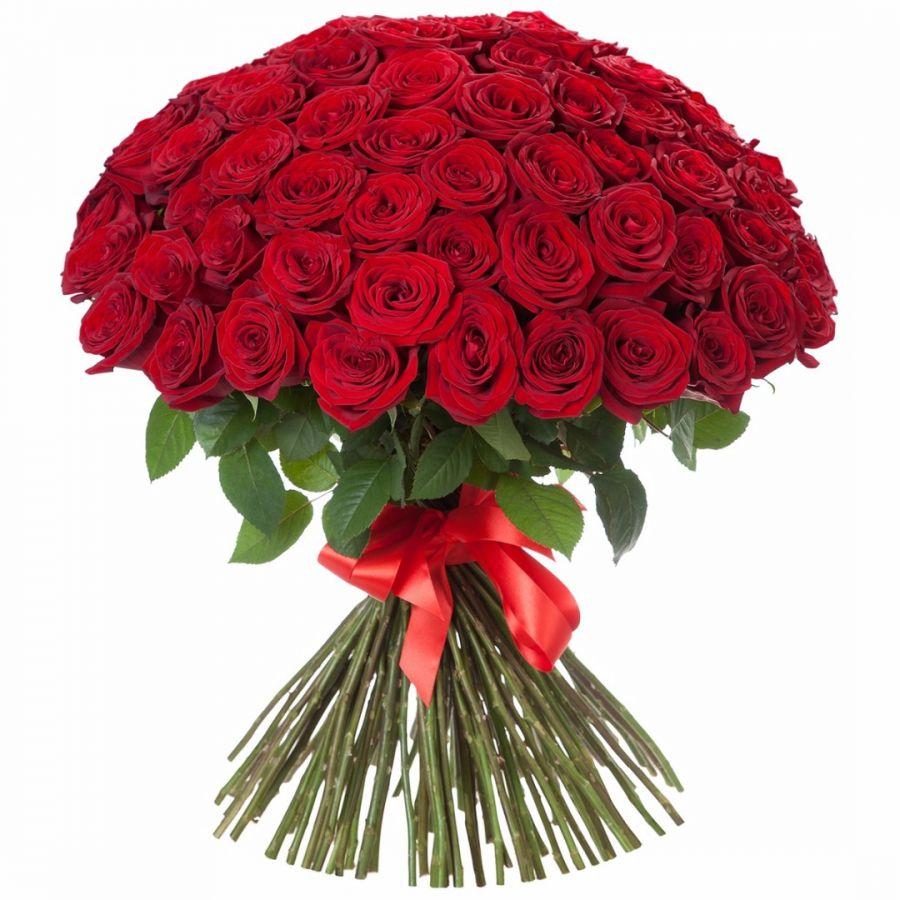 Розы Красные 70 см