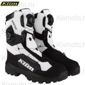 Ботинки Klim Adrenaline Pro Boa, Чёрно-белые