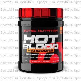 Scitec Nutrition Hot Blood Hardcore (375 гр.)