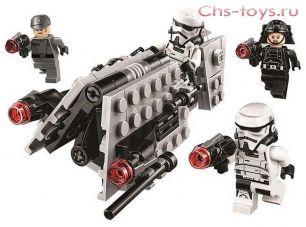Конструктор Lari Звездные войны Боевой набор имперского патруля 10909 ( 75207) 123 дет