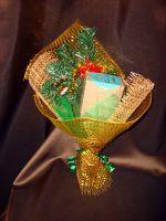 Букет Новогодний с кофе - подарочный набор с кофе
