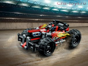 Конструктор Lari Техника Красный гоночный автомобиль 10821 (42073) 139 дет