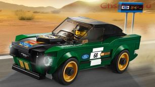 Конструктор Lari Speeds Champion Ford Mustang 1968 10944 189 дет