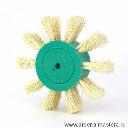 401.942-0004 Щетка дисковая Д 100 х 23 хвостовик 6 мм ворс фибра Тампико OSBORN