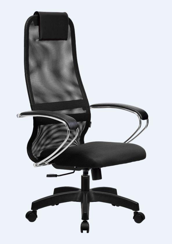 Кресло Метта SU-B-8/подл.104/осн.001 Чёрное
