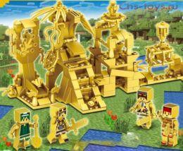 Конструктор PRCK Мой мир Золотые замки 33156 2 шт