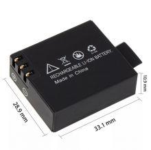 Аккумулятор для китайской экшн-камеры SJCAM SJ4000 SJ5000 SJ6000 SJ7000