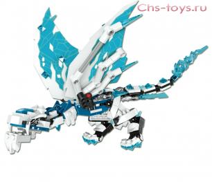 Конструктор PRCK Ниндзя Ледяной дракон 61012 311 дет