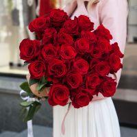 Букет из 25 роз (60см)