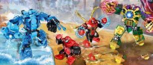 Конструктор PRCK Super Heroes Человек-паук роботы 2 вида 64039231 дет