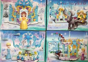 Конструктор PRCK Happy Princess 67003 4 шт