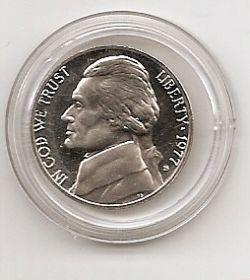 5 центов (Регулярный выпуск) США  1977 Двор S Proof
