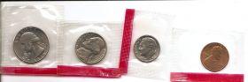 Набор регулярных монет США 1978 (4 монеты) Двор D