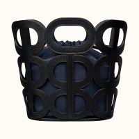 Сумка Hermes Chaine d'Ancre bag (Noir/Bleu Marine/Bleu Saint-Cyr)