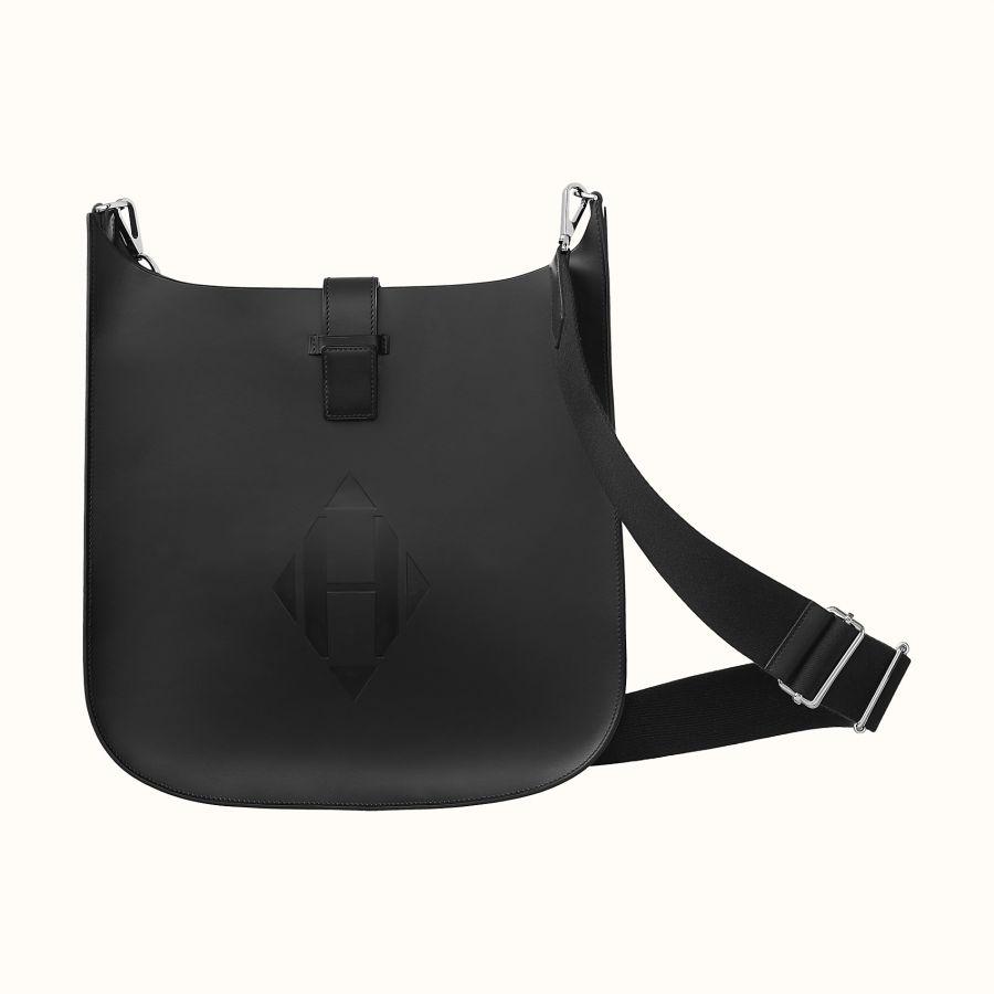 Сумка Hermes Evelyne Sellier 33 bag (Noir)