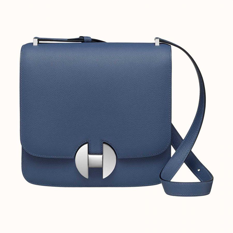 Сумка Hermes 2002 - 20 bag (Bleu Brighton)