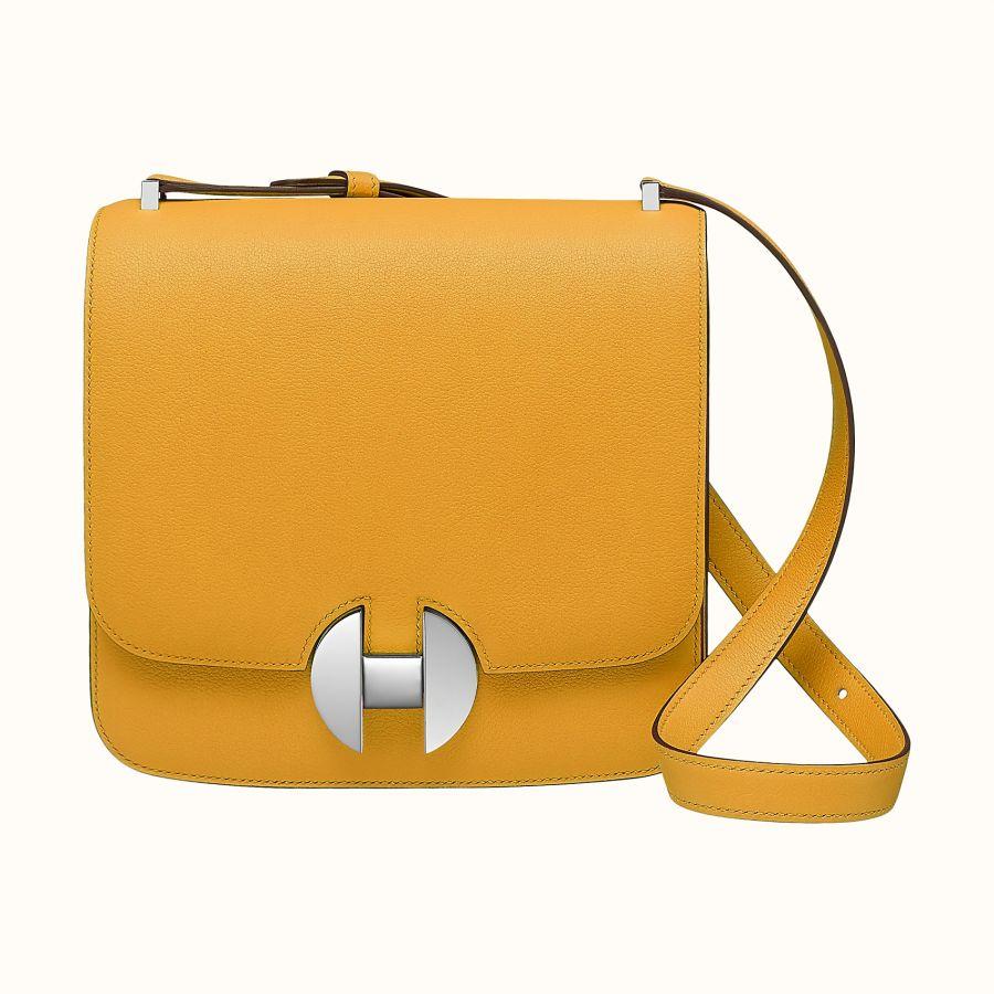 Сумка Hermes 2002 - 20 bag (Jaune Ambre)