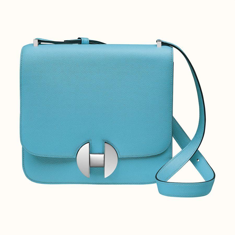 Сумка Hermes 2002 - 20 bag (Bleu Du Nord)