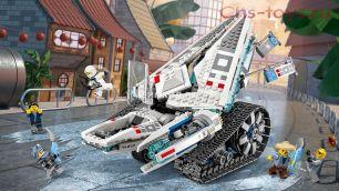 Конструктор Lari Ниндзя Ледяной танк 10726 (70616) 947 дет