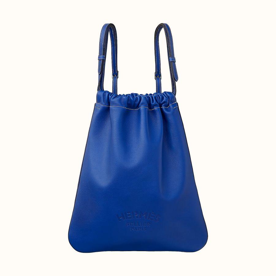 Сумка Hermes Bridado backpack (Bleu Électrique)