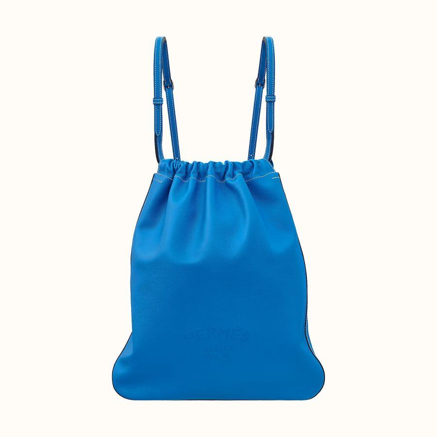 Сумка Hermes Bridado backpack (Bleu Hydra)